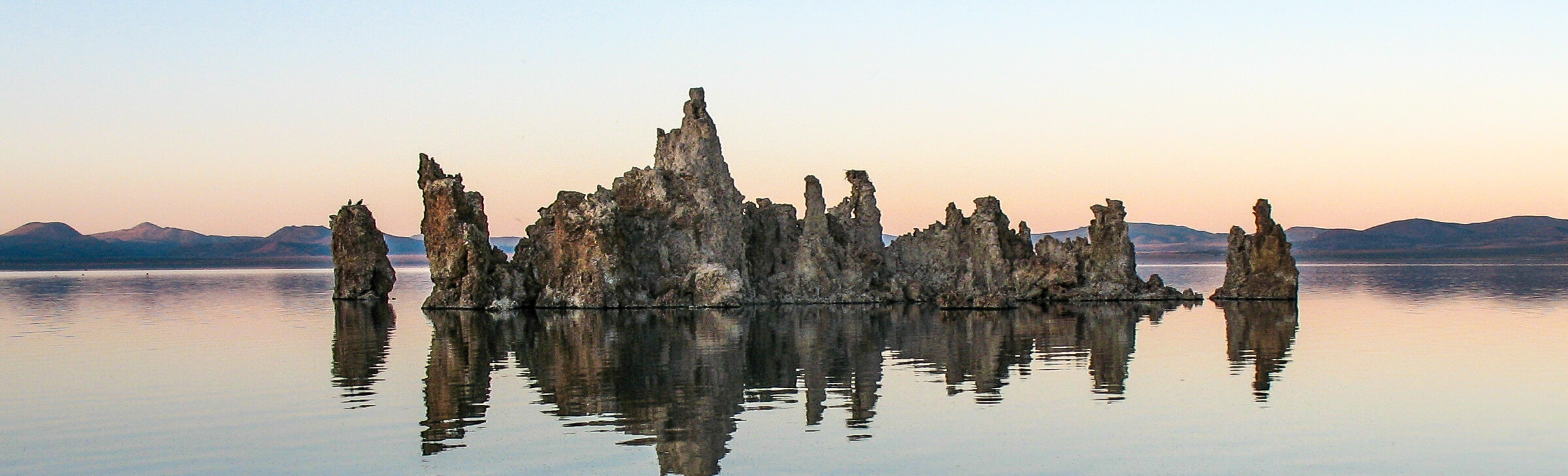 Tufa Towers Mono Lake